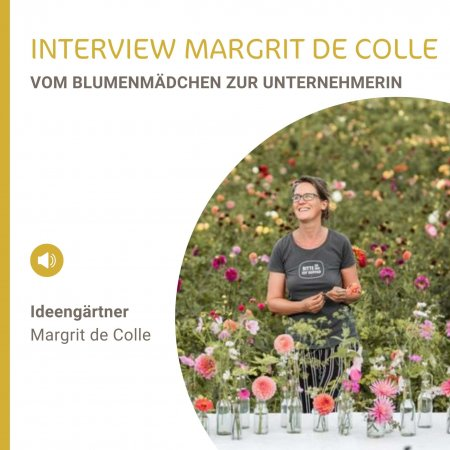 Interview Margrit de Colle - Vom Blumenmädchen zur Unternehmerin